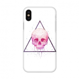 iPhone X  Skull in triangle by kodamorkovkart