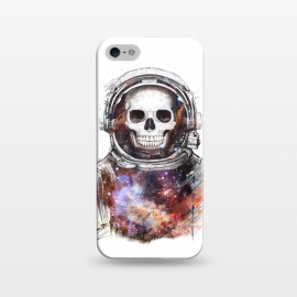 iPhone 5/5E/5s  Cosmic skull by kodamorkovkart