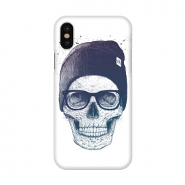 iPhone X  Colorful skull in hat by