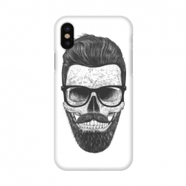 iPhone X  Hipster skull by kodamorkovkart
