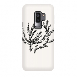 Galaxy S9+  Summer Coral Fern by Caitlin Workman