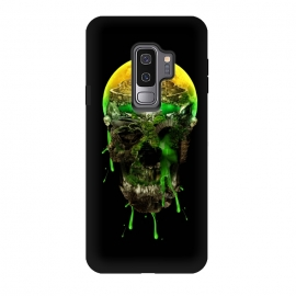 Galaxy S9 plus  Haunted Skull by  (skull,skeleton,horror,art,design,cool)