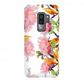 Galaxy S9 plus  Lush Watercolor Florals by