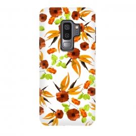 Galaxy S9 plus  Orange Poppy Star by