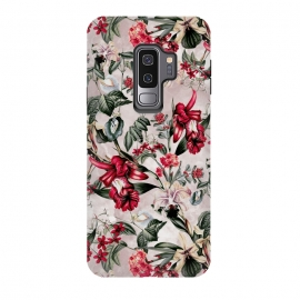 Galaxy S9 plus  Botanical Flowers IV by  (FLORAL,PATTERN,FASHION,DESIGN,ART)
