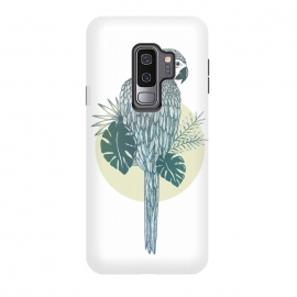 Galaxy S9 plus  Pappagallo by  (Animal, parrot, colorful, tropical, echo, copycat, illustration, summer)