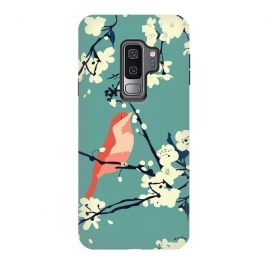 Galaxy S9+  Bird and Blossom by Zoe Charlotte