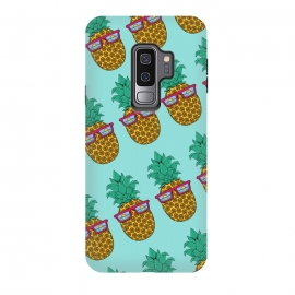 Galaxy S9+  Floral Pineapple pattern by Coffee Man