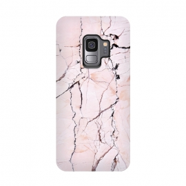 Galaxy S9  Pink texture marble by Mmartabc