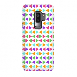 Galaxy S9+  Colorful Triangles by Dhruv Narelia