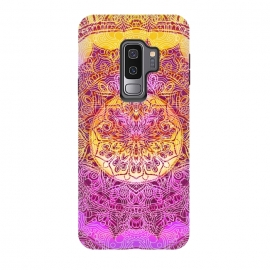 Galaxy S9+  Solar gradient ethnic mandala by Oana