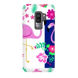 Galaxy S9+  FLAMINGO PATTERN 2 by MALLIKA