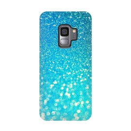 Galaxy S9  Ocean Azure Blue Glitter by Utart (glitter, texture, sparkle, shiny, luxury, shine, glow, metallic, valentine, glamour, love, wedding, glowing, bokeh, effect, metal, blur, brilliant, twinkle, valentines day, elegant, fashion, gleam, gloss, brilliance, rose gold, romantic, shimmer, flare, glossy, sparks, glisten,blue,teal,aqua,turquoi)