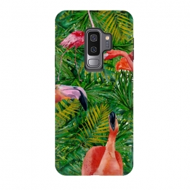Galaxy S9+  Flamingo Jungle Party by Utart