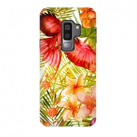 Galaxy S9 plus  Tropical Bird in Jungle by