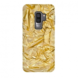 Galaxy S9 plus  Golden Metal Foil by