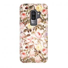 Galaxy S9+  Vintage Roses Pattern by Utart