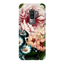 Galaxy S9 plus  Vintage Peony and Little Bell by
