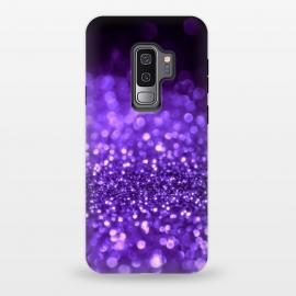 Galaxy S9 plus  Ultra Violet Faux Glitter by  (purple ,ultra violet,violet,glitter, texture, sparkle, shiny, pink, luxury, shine, glow, metallic, valentine, glamour, love, wedding, glowing, bokeh, effect, metal, blur, brilliant, twinkle, valentines day, elegant, fashion, gleam, gloss, brilliance, romantic, shimmer, flare, glossy, sparks, glisten)