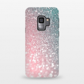 Galaxy S9  Ice Pink Faux Glitter by Utart (glitter, rose, gold, texture, sparkle, shiny, pink, luxury, shine, glow, metallic, valentine, glamour, love, wedding, glowing, bokeh, effect, metal, blur, brilliant, twinkle, valentines day, elegant, fashion, gleam, gloss, brilliance, rose gold, romantic, shimmer, flare, glossy, sparks, glisten,pink)