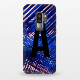 Galaxy S9 plus  Letter A by  (A,Letter A,typography,initial)
