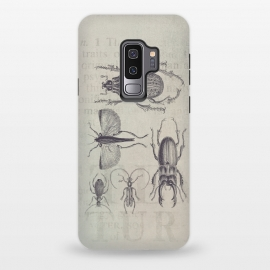 Galaxy S9 plus  Vintage Beetles And Bugs by