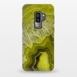 Galaxy S9 plus  Green Agate Geode by