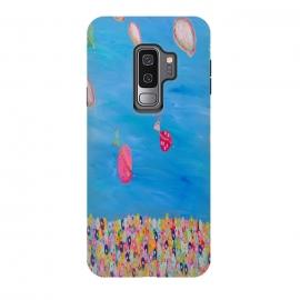 Galaxy S9 plus  My World by  (fun modern flowers)