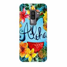 Galaxy S9+  Aloha Tropical Fruits by Utart