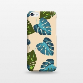iPhone 5C  Monstera Abstract by Creativeaxle