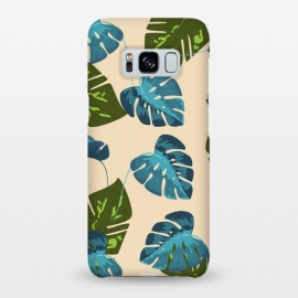 Galaxy S8+  Monstera Abstract by Creativeaxle