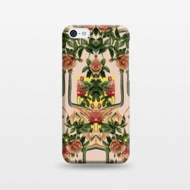 iPhone 5C  Retro Jungle Rose by Zala Farah