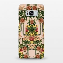 Galaxy S8+  Retro Jungle Rose by Zala Farah