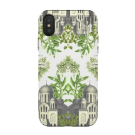iPhone Xs / X  Botanical Castle by