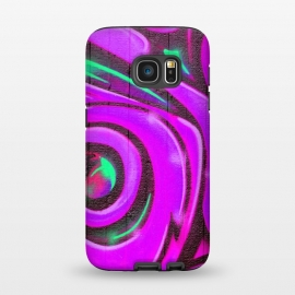 Galaxy S7  Pink Graffiti by Andrea Haase