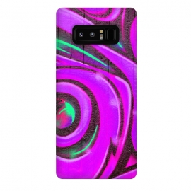 Galaxy Note 8  Pink Graffiti by Andrea Haase