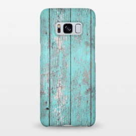Galaxy S8+  Old Board Wall With Flaked Paint by Andrea Haase