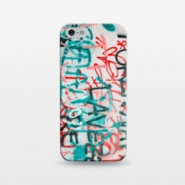 iPhone 5/5E/5s  Graffiti Text by Andrea Haase