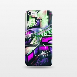 iPhone 5C  Colorful Graffiti by Andrea Haase