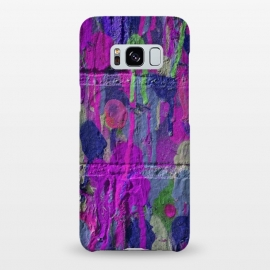 Galaxy S8+  Colorful Spray Paint Wall by Andrea Haase