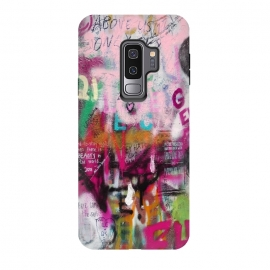 Galaxy S9+  Colorful GraffitiArt by Andrea Haase