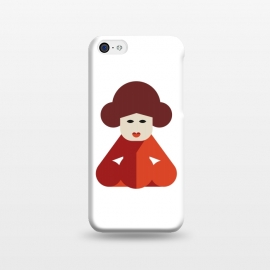 iPhone 5C  cuteness chinese women by TMSarts