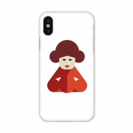 iPhone X  cuteness chinese women by TMSarts