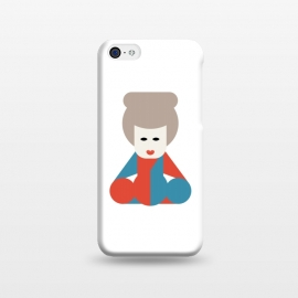iPhone 5C  chinese lady  by TMSarts
