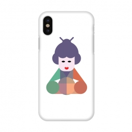 iPhone X  chinese beauty by