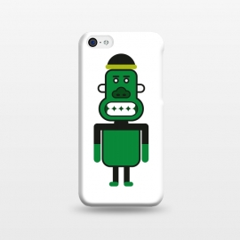 iPhone 5C  green monkey by TMSarts