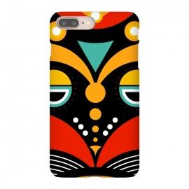 iPhone 8/7 plus  rasta tribal mask by