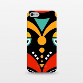 iPhone 5/5E/5s  rasta tribal mask by TMSarts