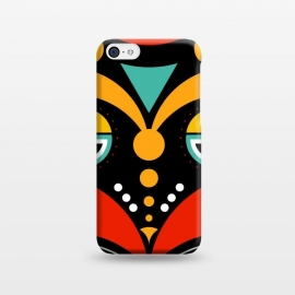 iPhone 5C  rasta tribal mask by TMSarts