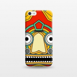 iPhone 5C  indian tribal mask by TMSarts